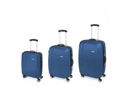 Cestovní sada kufrů Gabol Line azul 77+67+55 cm