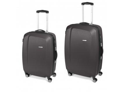 Cestovní sada kufrů Gabol Line gris 77+67 cm