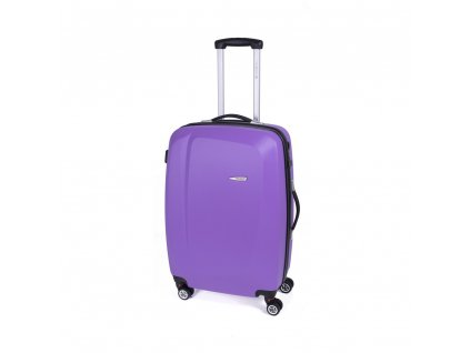 Cestovní kufr Gabol Line malva 67 cm