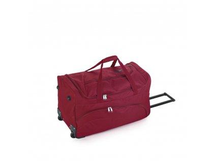 Cestovní taška na kolečkách Gabol Week 100546 65L red