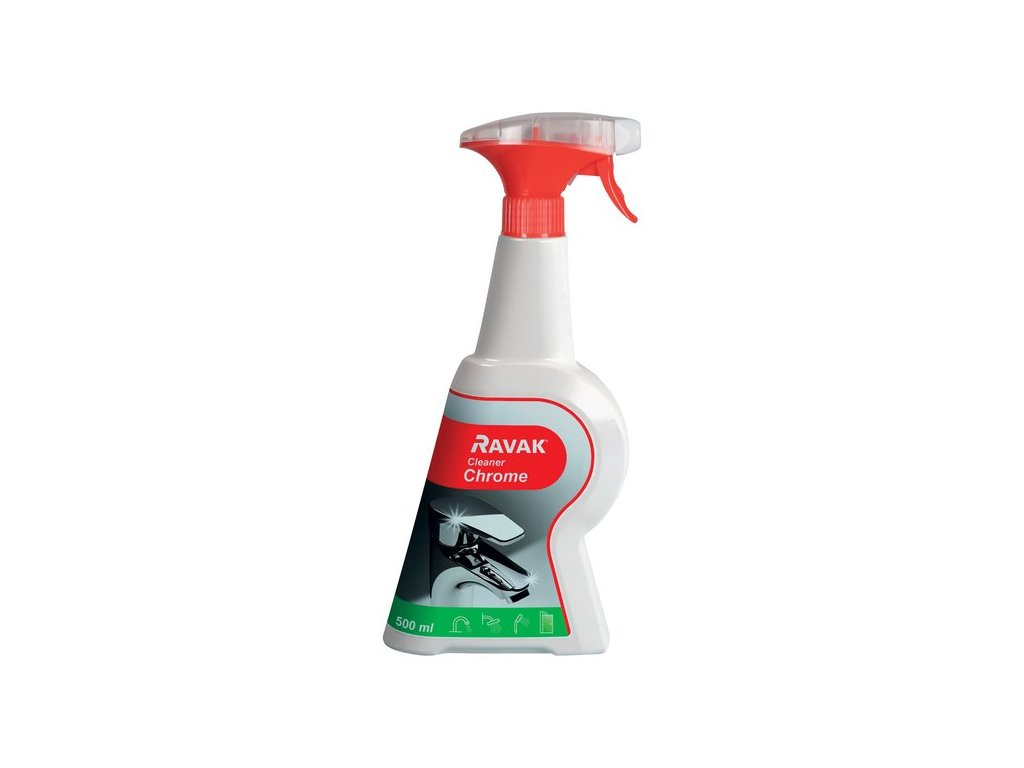 Čistidlo CLEANER CHROME Ravak, 500 ml