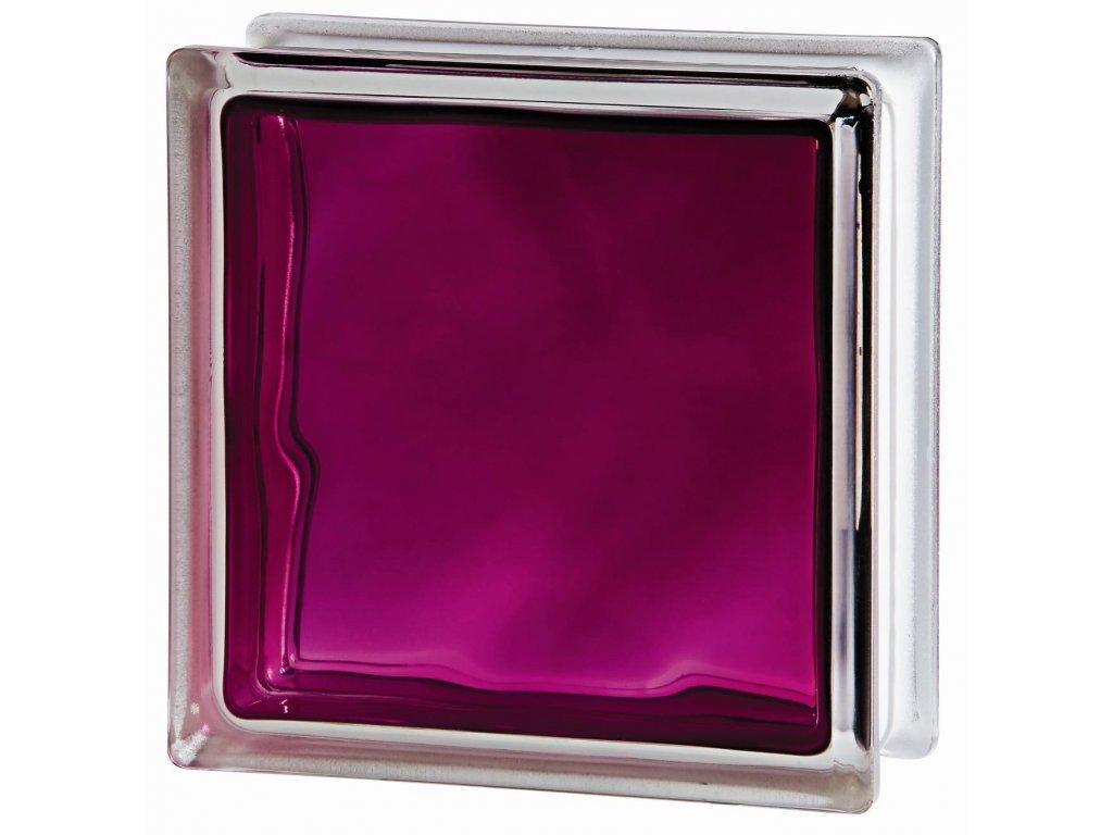 Sklobetón 1919-8WRU Ruby Wave, rubínový