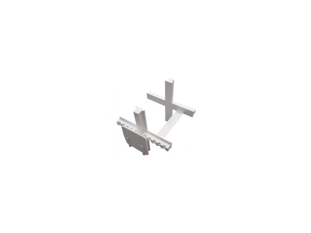 Distančné krížiky 5 mm pre sklobetón
