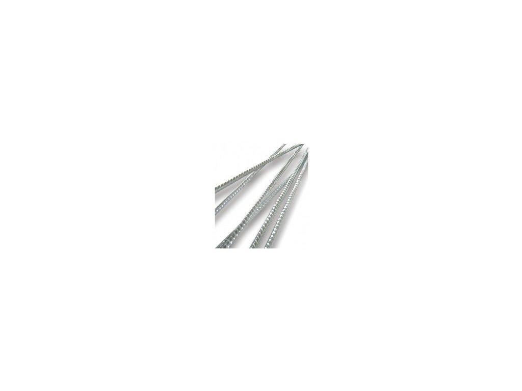 Výstuž pre sklobetón, prút pozink 6mm, dĺžka 2m