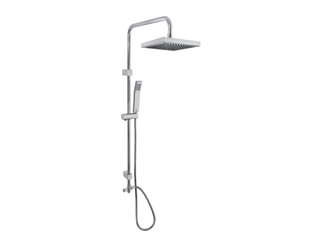 Sprchový set 060/2.0 Novaservis, bez batérie, spodný vývod, chróm