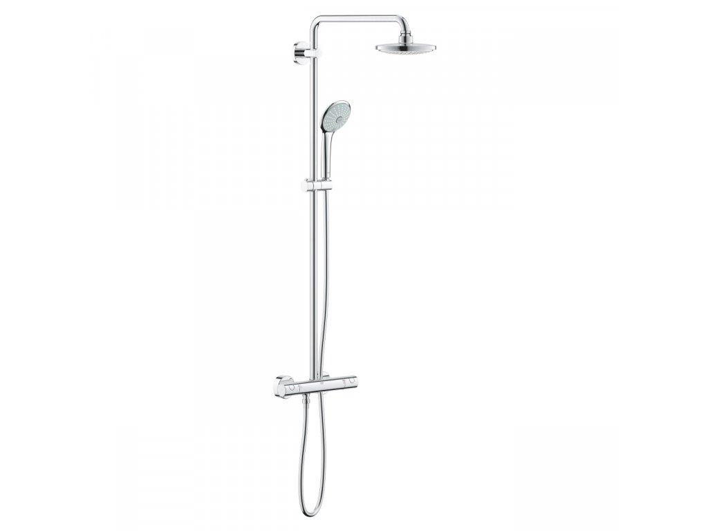 Sprchový systém EUPHORIA SYSTEM 180 Grohe, s termostatom na stenu, chróm