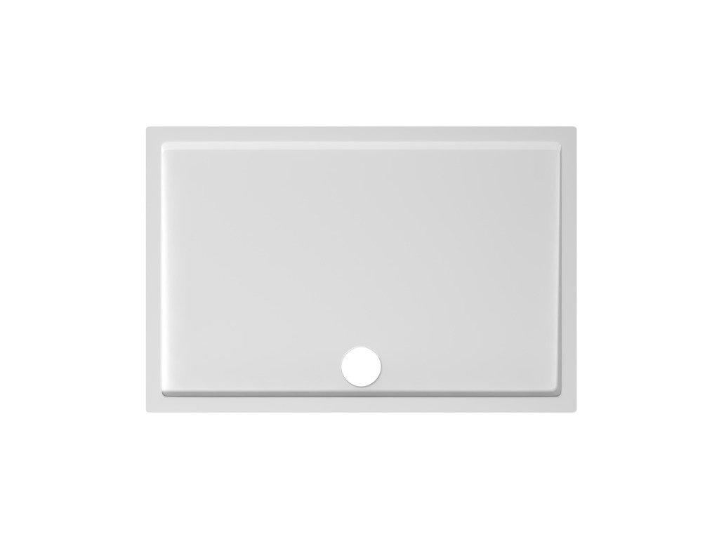 Sprchová vanička obdĺžniková 120x80 cm PADANA Jika, biela
