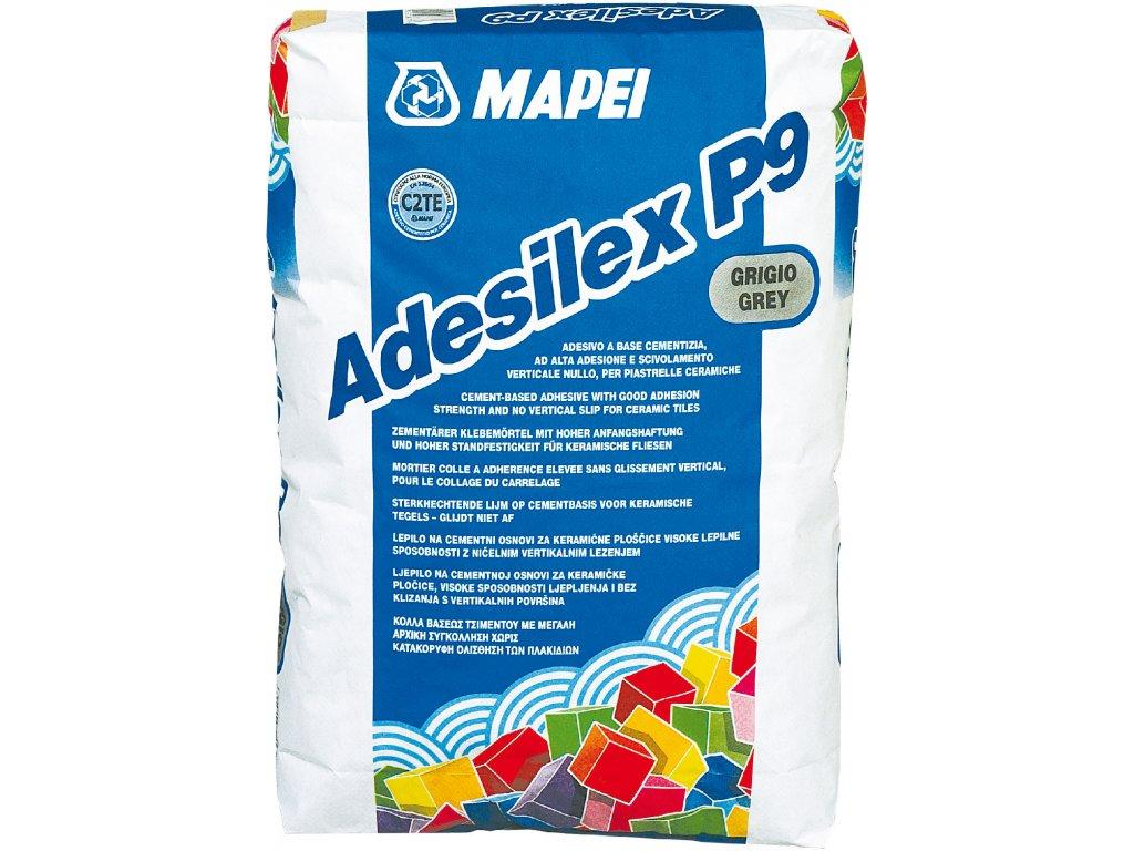 Cementové lepidlo ADESILEX P9 Mapei, šedá, 25 kg