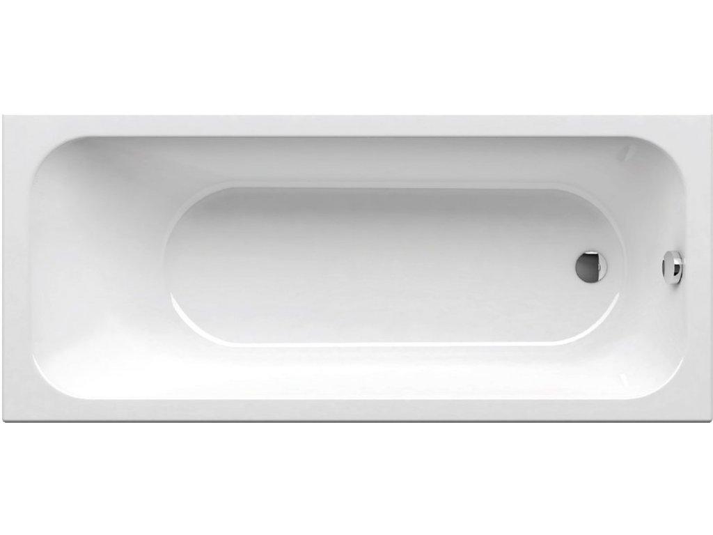 Vaňa obdĺžniková 170x70 cm CHROME Ravak, biela
