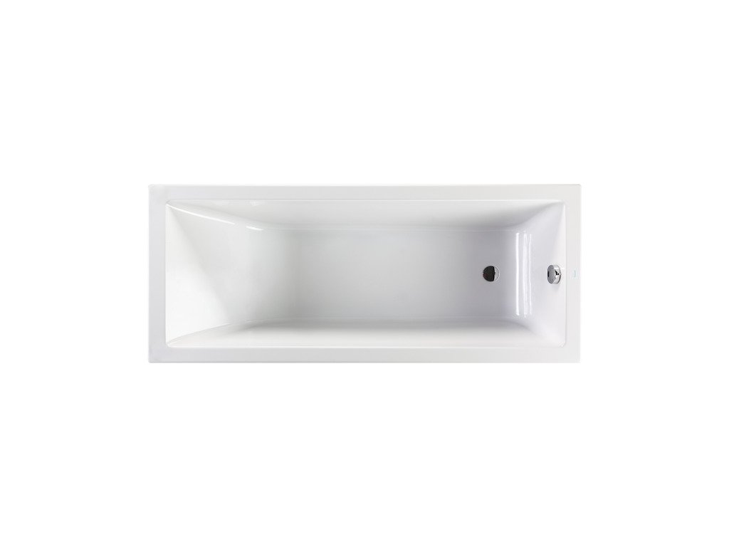 Vaňa obdĺžniková 170x75 cm CUBITO PURE Jika, biela