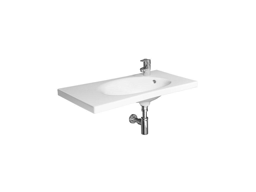 Umývadlo nábytkové 80x38,5 cm TIGO Jika, biela