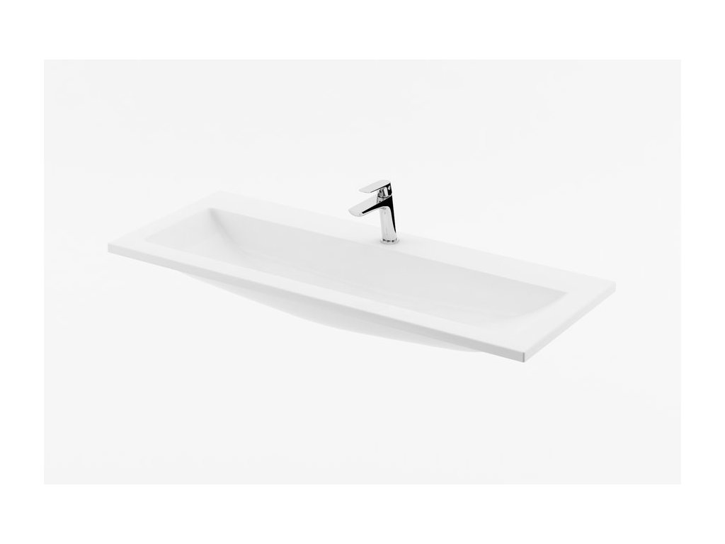 Umývadlo 80x38 cm CLEAR 800 Ravak, s otvormi, biela