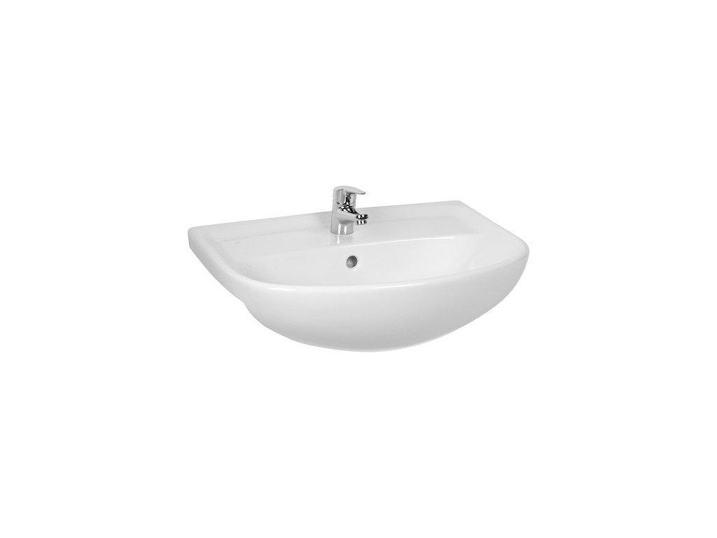 Umývadlo nábytkové 60x46 cm LYRA PLUS jika, biela