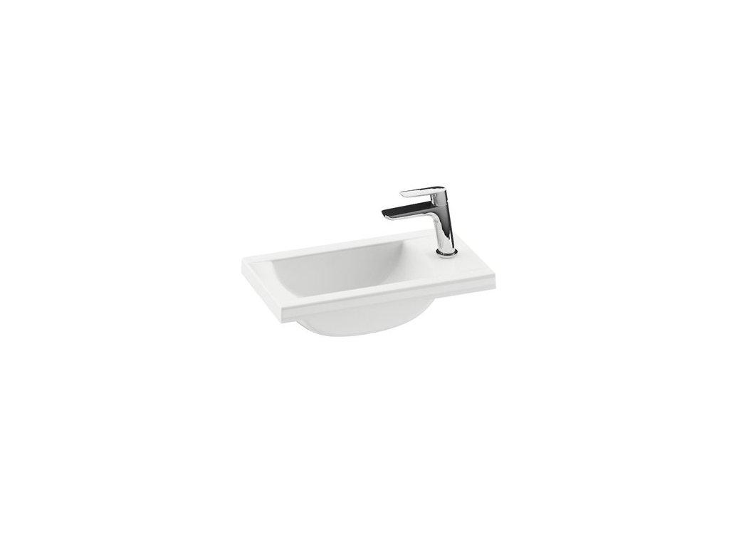 Umývadielko 40x22 cm CLASSIC 400 Ravak, s otvormi, biela