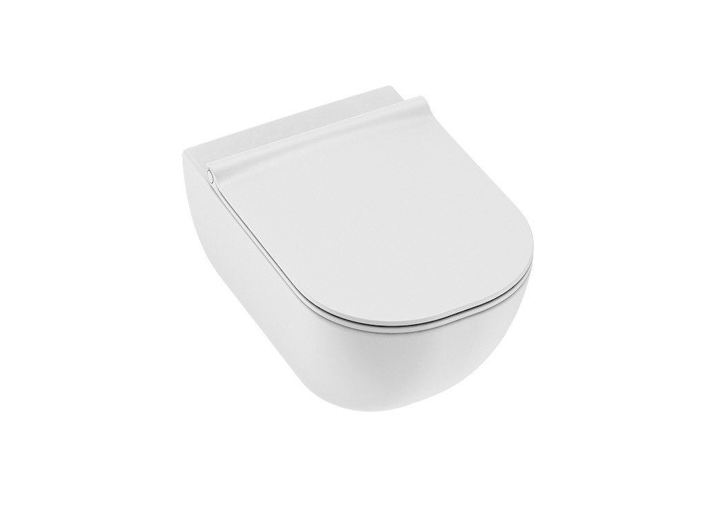 Závesná WC misa MIO Jika, bez olachovéjo kruhu, biela