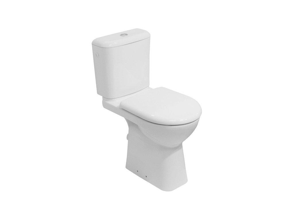 Stojaca WC misa kombi DEEP By Jika, zvýšená, biela