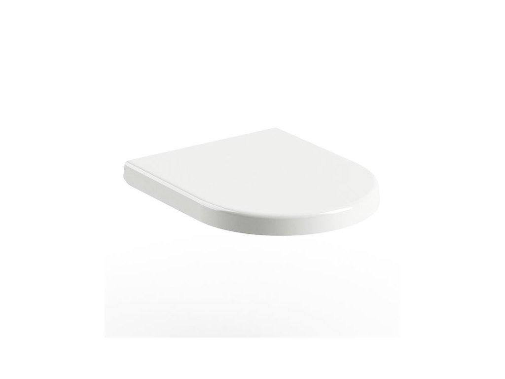 WC sedátko Uni CHROME Ravak, biela
