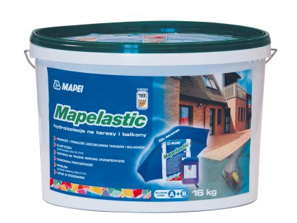 Cementová vodotesná malta MAPELASTIC Mapei, 16 kg