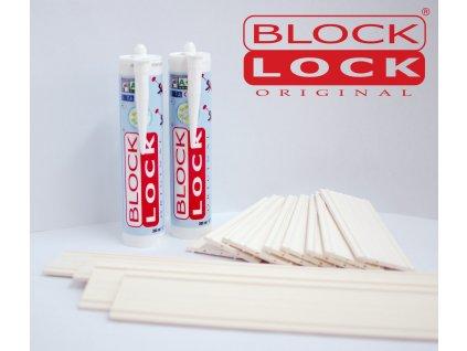 Montážna sada BlockLock pre 10 sklobetónu Basic