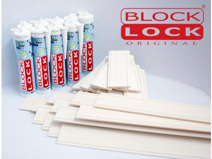 Montážna sada BlockLock pre 40 sklobetónu Basic