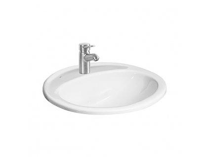 Umývadlo zápustné 56x47,5 cm IBON Jika, biela