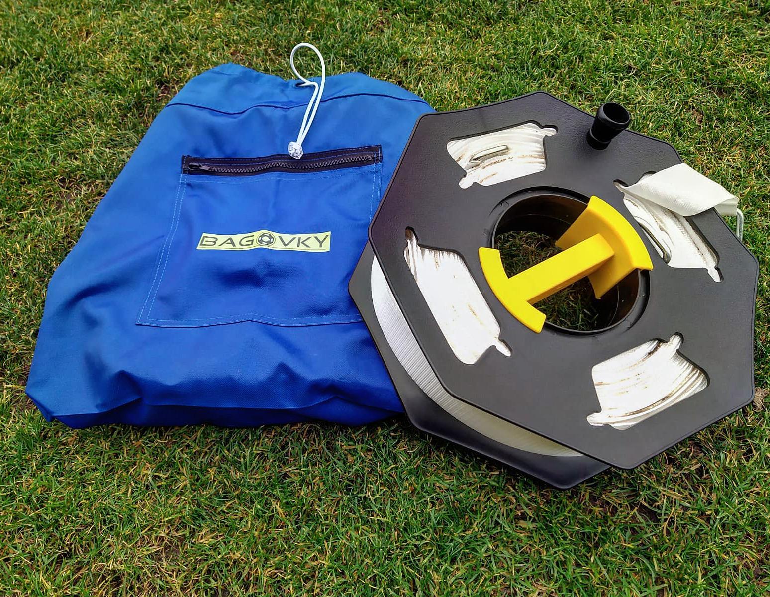 Bagovky pomáhají profisportovcům, ale i hrám na skautských táborech nebo na chalupě. I na zahradě se dá trénovat jako pod Guardiolou