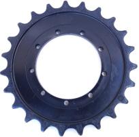 Kubota KX101-3 Alfa rolny (kladky), vodící kola, turasy, gumové pásy