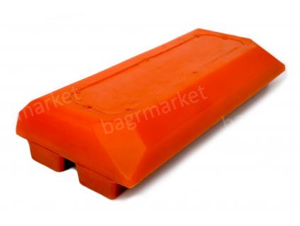 2411111 polyuretanova deska pasu Wirtgen 260x120x50 Polyurethane Track Pad