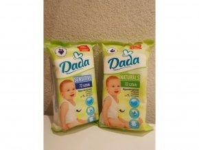 Vlhčené ubrousky Dada Sensitive (72ks)