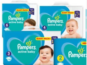 Active baby-dry Pampers Giant Pack