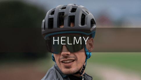 Cyklistické helmy pro dospělé a děti na MTB, silnici od značek UVEX, POC, FOX, NUTCASE, WOOM, ETAPE, R2, MAVIC
