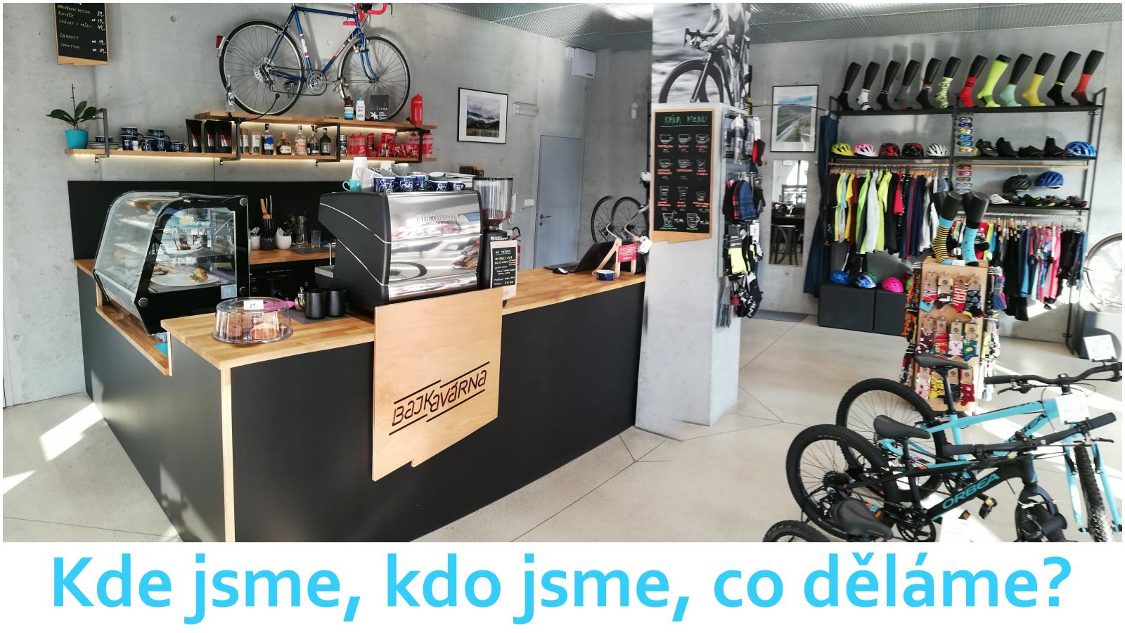 Stylová kavárna a cyklistický butik ve Zlíně