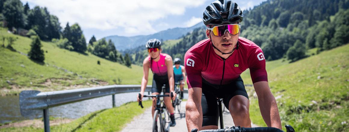 Jarní a letní kolekce 2021 pánského a dámského cyklistického oblečení od značky ALÉ