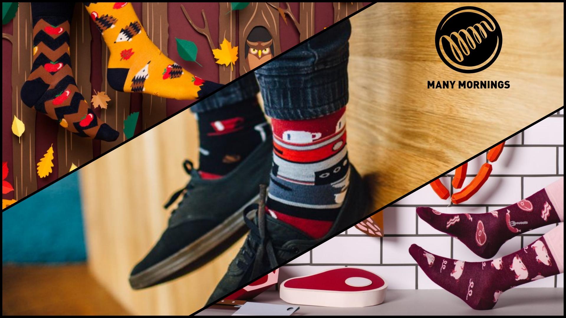 Nová kolekce veselých ponožek