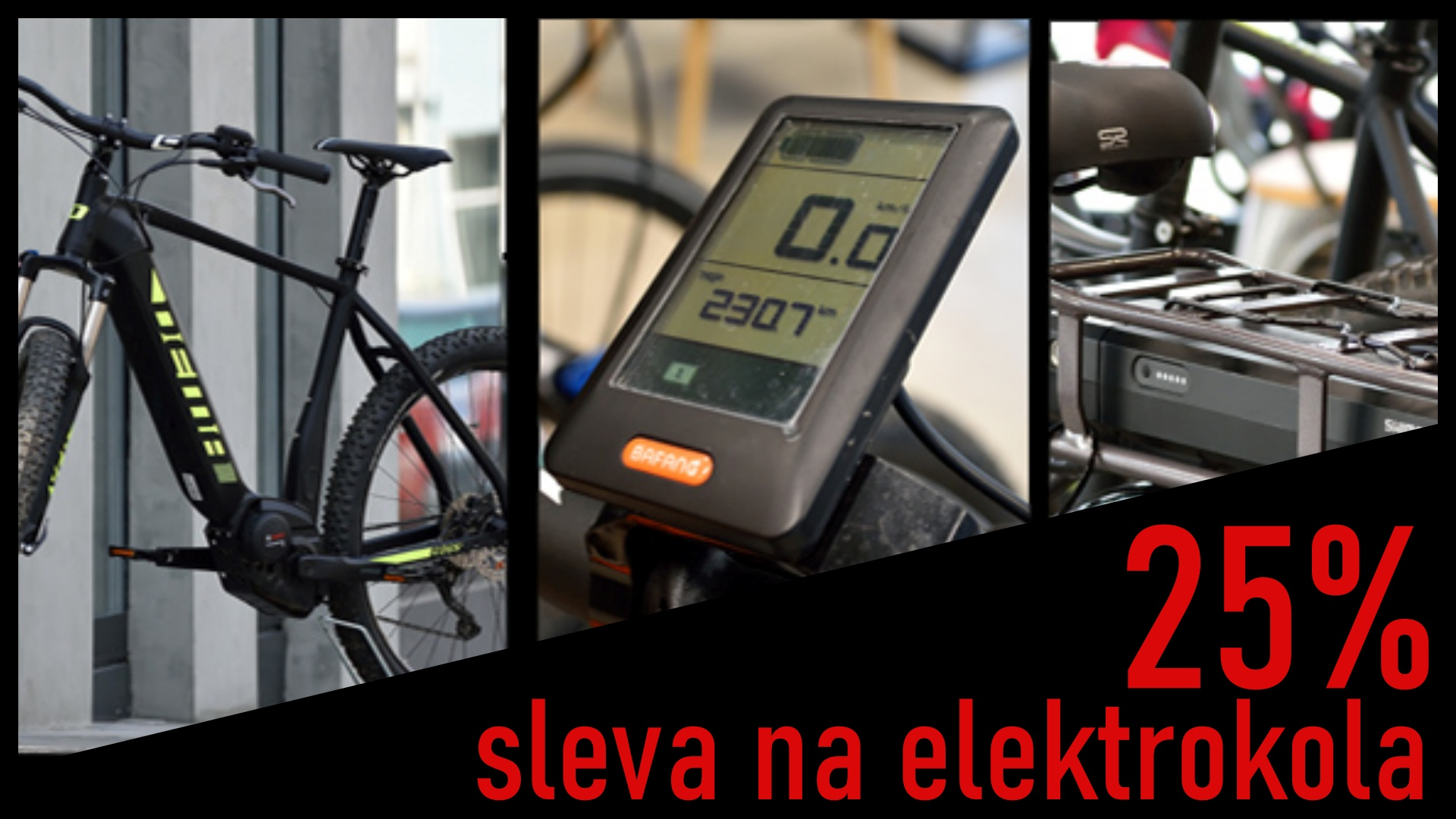 Sleva 25% ne elektrokola!