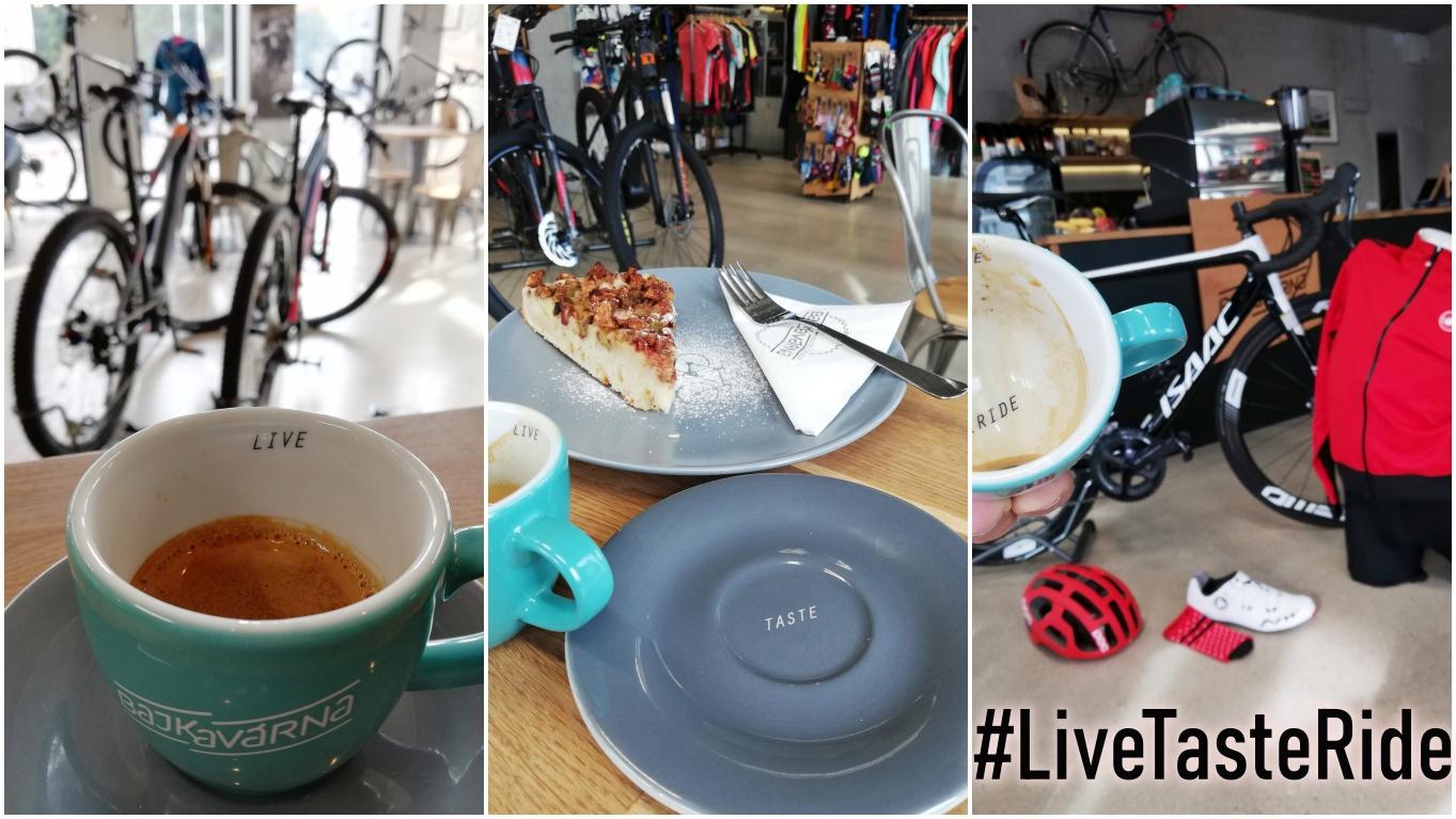 stylová kavárna, cyklistický butik