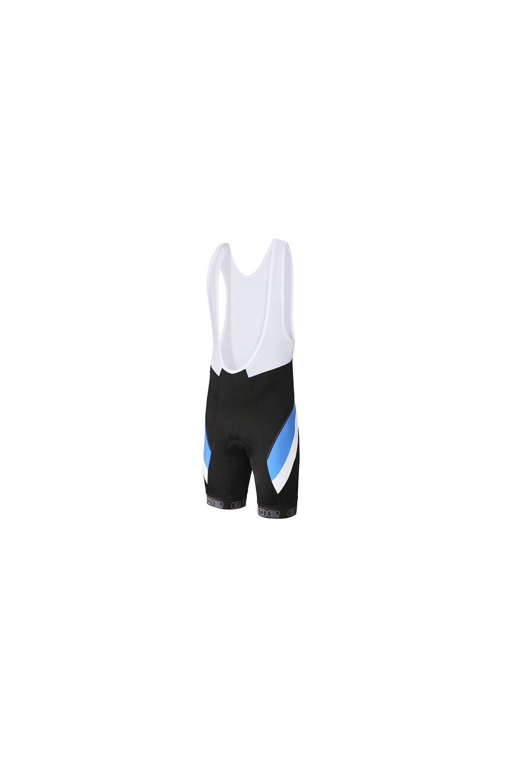 Etape - pánské kalhoty PROFI LACL s vložkou, černá/modrá