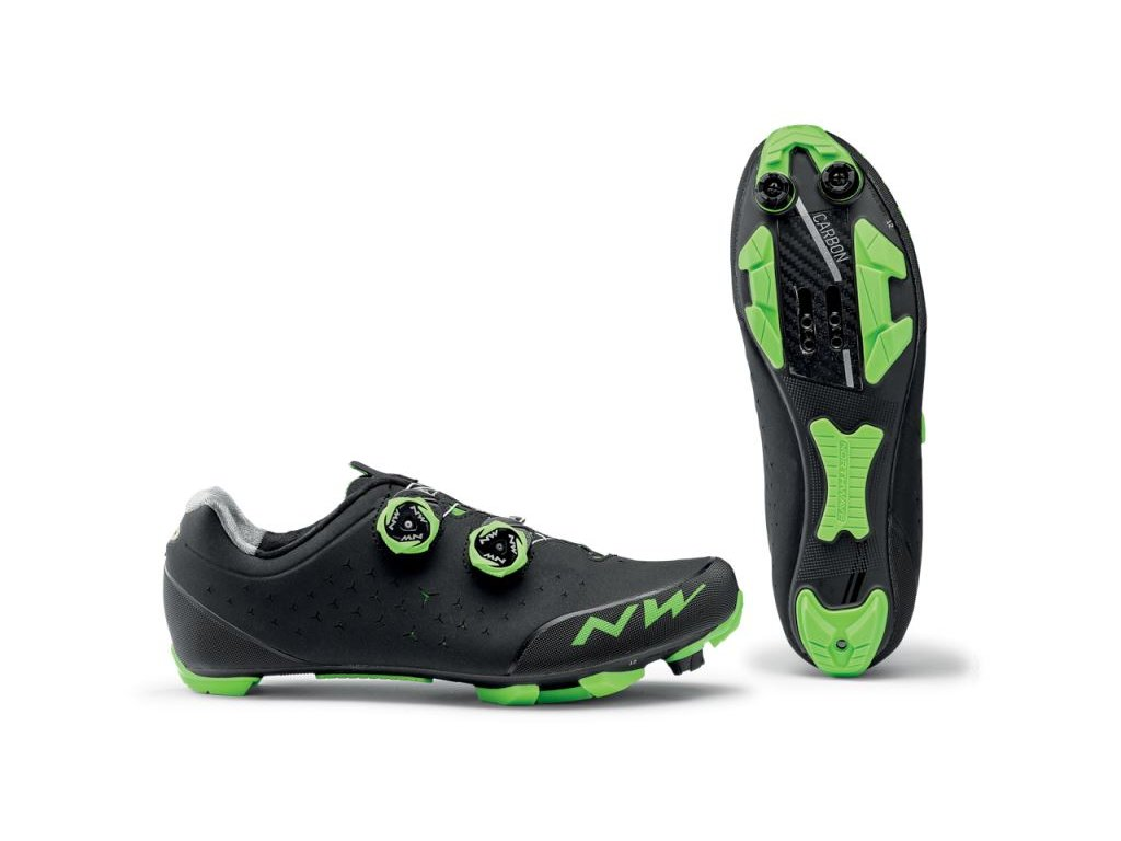 Cyklotretry NORTHWAVE Rebel 2, black/green