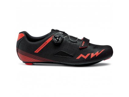 Cyklotretry NORTHWAVE Core Plus, black/red