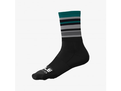 L21203462 1 STRIPES verde SOCKS