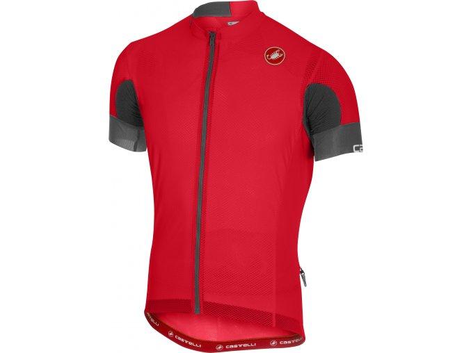 Castelli - pánský dres Ar 4.1. Solid, red