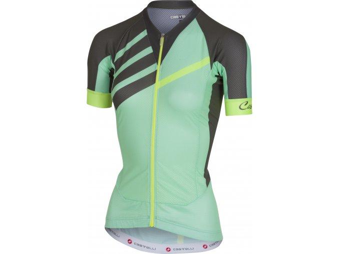 Castelli - dámský dres Aero Race, pastel mint