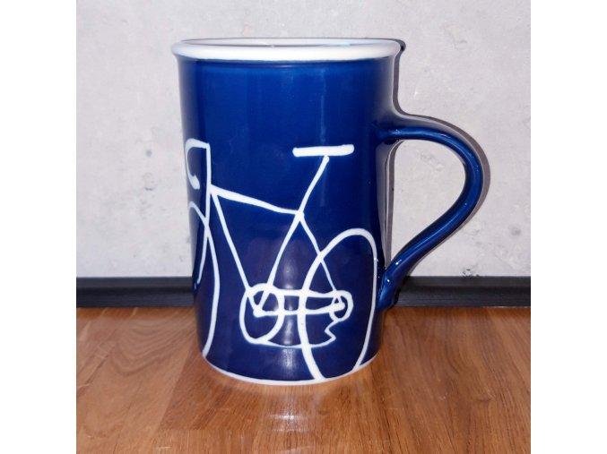 Cyklistický hrnek na kávu / čaj 1 l (velké kolo)