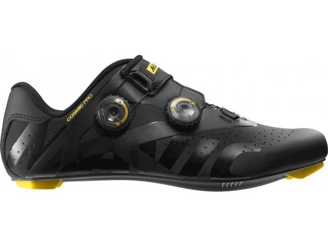 19 MAVIC COSMIC PRO TRETRY BLACK/YELLOW MAVIC/BLACK 402063 7,5