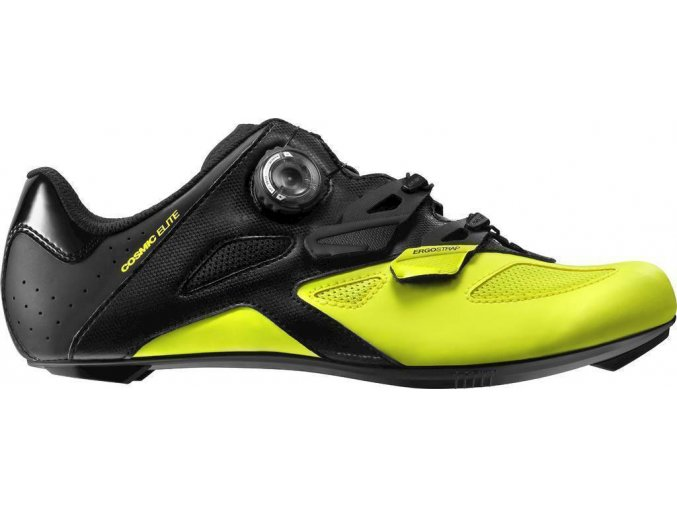 19 MAVIC COSMIC ELITE TRETRY BLACK/BLACK/SAFETY YELLOW 401537 8