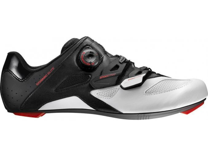 18 MAVIC COSMIC ELITE TRETRY BLACK/WHITE/FIERY RED 391340 7