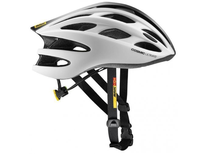 18 MAVIC COSMIC ULTIMATE II HELMA WHITE/BLACK 392541 M