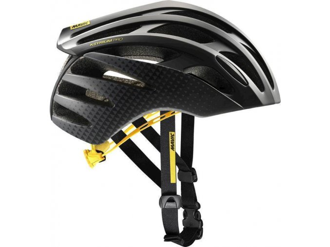 18 MAVIC KSYRIUM PRO HELMA BLACK/YELLOW 392500 L