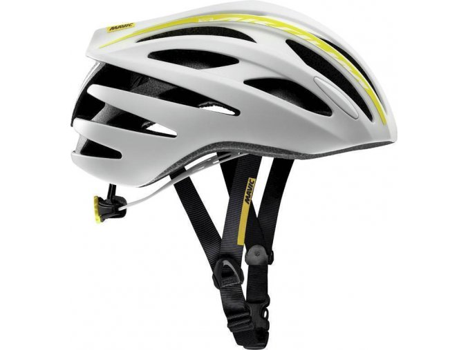 18 MAVIC AKSIUM ELITE W HELMA WHITE/COLZA YELLOW 381888 S