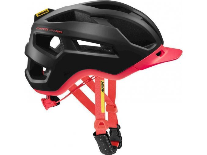 19 MAVIC ECHAPPÉE TRAIL PRO HELMA PIRATE BLACK/FIERY CORAL 401915 S